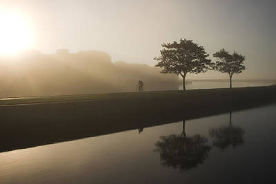 Morning Cycle Galway Ireland Poster
