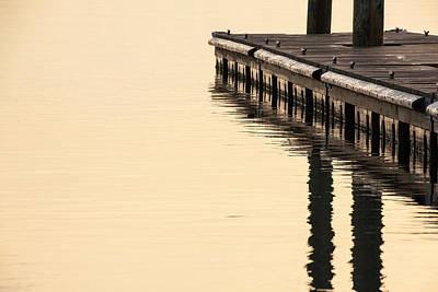Morning Dock Poster by Karol Livote