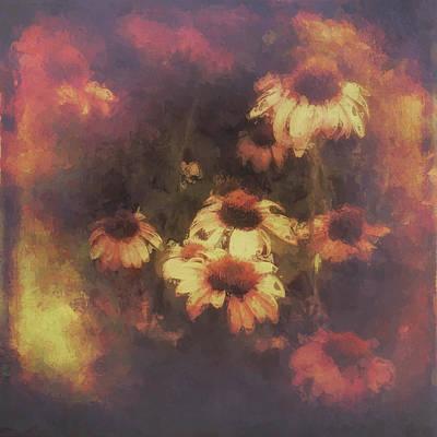 Morning Fire - Fierce Flower Beauty Poster