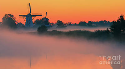 Morning Has Broken Poster by Henk Meijer Photography