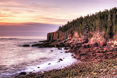 Morning In Acadia Poster