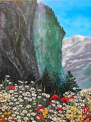 Morning In Mountains  Poster by Viktoriya Sirris