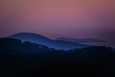 Morning Light In Shenandoah  Poster