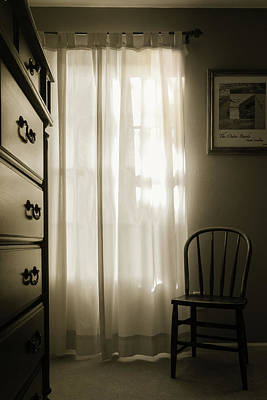 Morning Light Through The Window Poster
