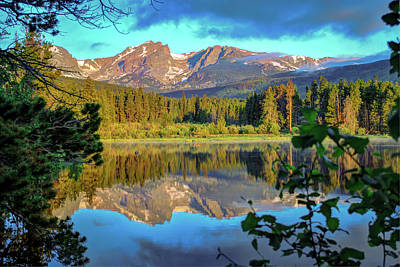 Morning On Sprague Lake - Rocky Mountain National Park Poster