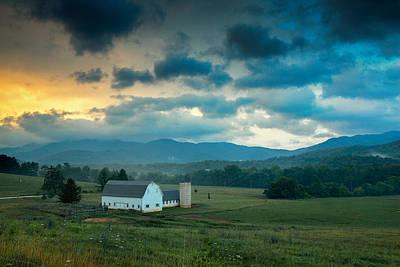 Morning On The Farm Poster by Joye Ardyn Durham