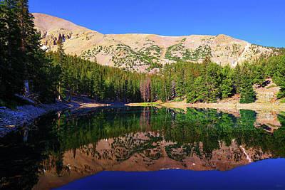 Morning Reflections At Teresa Lake Poster
