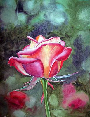 Morning Rose Poster by Irina Sztukowski