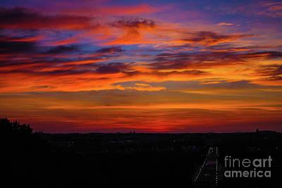 Morning Sky Over Washington D C Poster