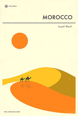 Morocco Travel Poster Poster