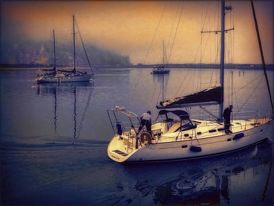 Poster featuring the photograph Morro Bay Dawn by Douglas MooreZart