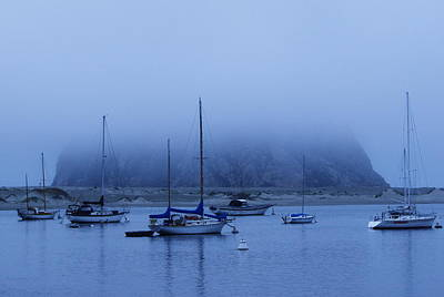 Poster featuring the photograph Morro Bay by Jan Cipolla