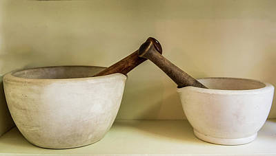 Poster featuring the photograph Mortar And Pestle by Paul Freidlund