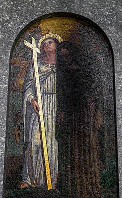 Mosaic Of Jesus Christ Poster