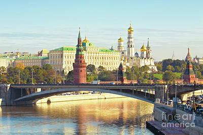 Moscow, Kremlin Poster by Irina Afonskaya