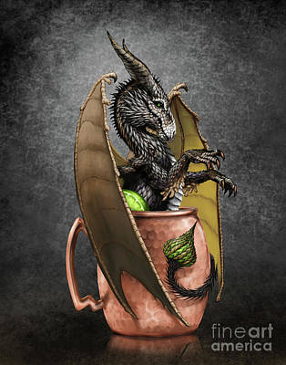 Moscow Mule Dragon Poster