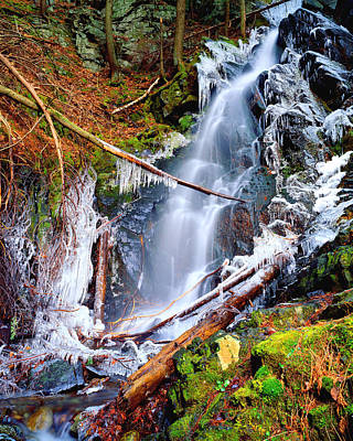 Mossy Cascade Falls Poster