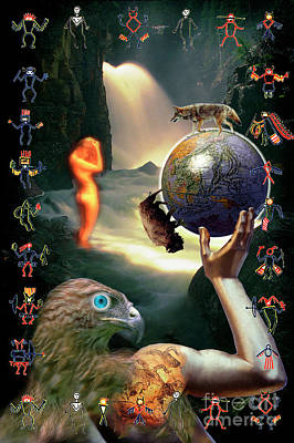 Poster featuring the photograph Mother Nature by Craig J Satterlee
