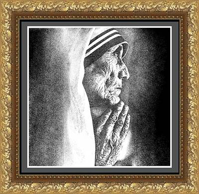 Mother Teresa Poster by Sai Parikshath