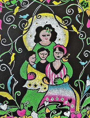 Motherhood No. 6 Poster by Heather McFarlane-Watson