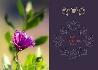 Mother's Day Flower Poster