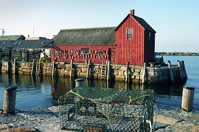 Motif Number One II Rockport Massachusetts Poster