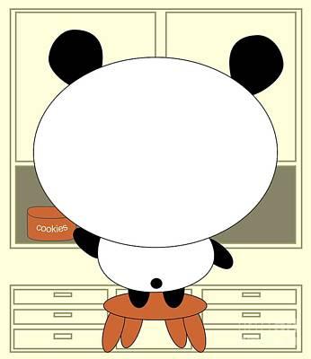 Motivational Panda Poster by Kourai