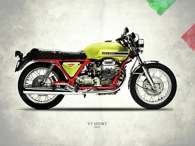 Moto Guzzi Posters | Fine Art America