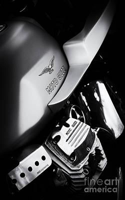 Moto Guzzi V7 Cafe Racer Poster