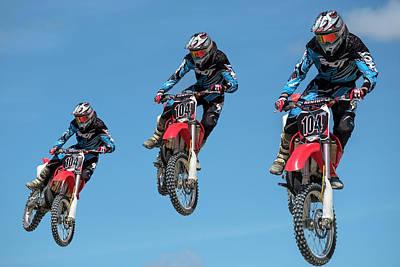Motocross Riders Poster