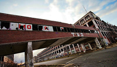 Motor City Industrial Park The Detroit Packard Plant Poster by Gordon Dean II
