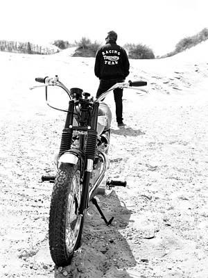 Motorcycle Racing Team Poster