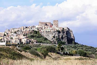 Motta Sant'anastasia - Sicily Poster by Joana Kruse