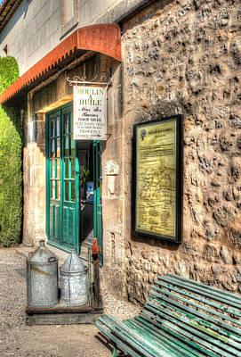 Moulin A Huile Mas Des Barres Provence France Poster by Tom Prendergast
