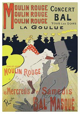 Moulin Rouge, La Goulue Poster