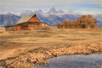 Moulton Barn 2- Grand Tetons Poster