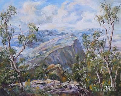 Mount Abrupt Grampians Victoria Poster