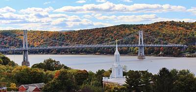Mount Carmel And The Mid Hudson Bridge Poster