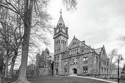 Mount Holyoke College Mary Lyon Hall Poster by University Icons