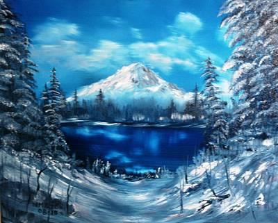 Mount Hood - Opus 2 Poster by Larry Hamilton