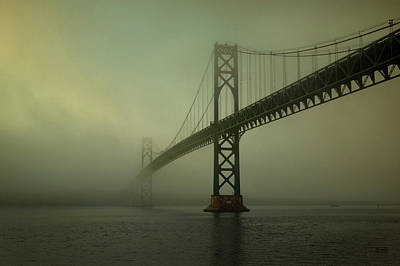 Mount Hope Bridge Poster by Dave Gordon