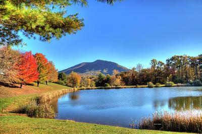 Mount Jefferson Reflection Poster