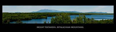 Mount Katahdin Poster by Venura Herath