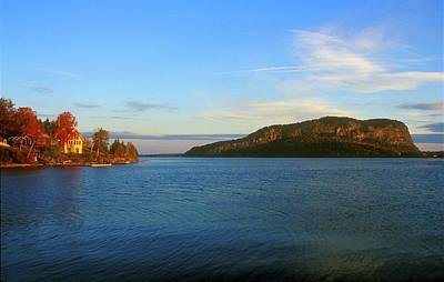 Mount Kineo Moosehead Lake Poster