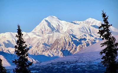 Poster featuring the photograph Mount Mckinley by Adam Owen