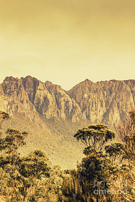 Mount Read In Western Tasmania Poster by Jorgo Photography - Wall Art Gallery