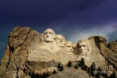Mount Rushmore Poster by Brent Parks