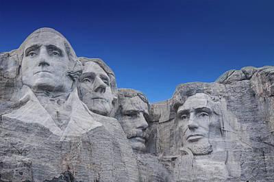 Mount Rushmore National Monument In South Dakota Poster