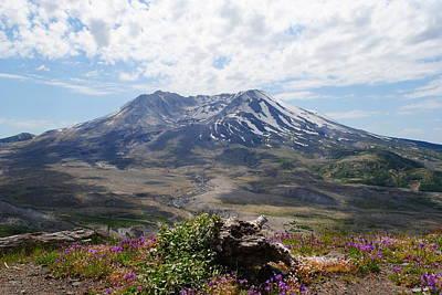 Mount Saint Helens Poster