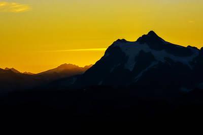 Mount Shuksan Sunrise Poster by Pelo Blanco Photo